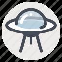 alien, launch, rocket, space, spacecraft, stars, ufo icon