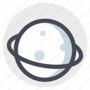 launch, moon, planets, space, spacecraft, stars, universe icon