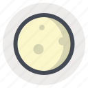 flying, launch, moon, planet, space, stars, universe icon