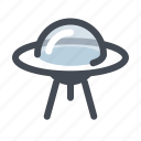 alien, launch, rocket, space, spacecraft, spaceship, ufo icon