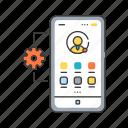 app, application, development, interface, management, mobile, smartphone