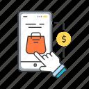 app, application, creating, development, mobile, purchase, smartphone