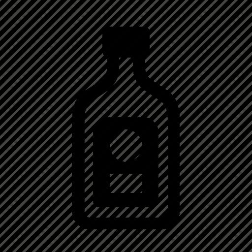 Bar, drinks, alcohol, bottle, drink, vodka, wine icon - Download on Iconfinder