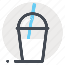 dessert, glass, ice, ice cream, milk shake, summer, sweet icon
