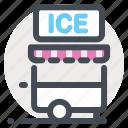 dessert, eskimo pie, ice, ice cream juice, icecream, icecream truck, summer icon