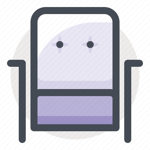 armchair, chair, couch, furniture, house, interior, sofa icon