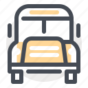 bus, knowledge, school, study, transportation, travel, university icon