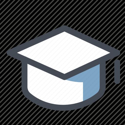degree, graduate, graduation, hat, knowledge, school, university icon