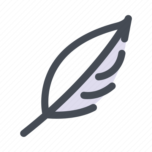 feather, knowledge, signature, student, study, teaching, write icon
