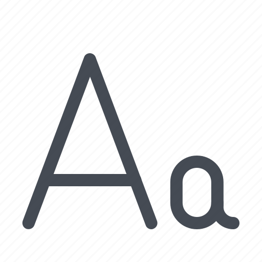 a, abcd, education, english, letter, study, teaching icon