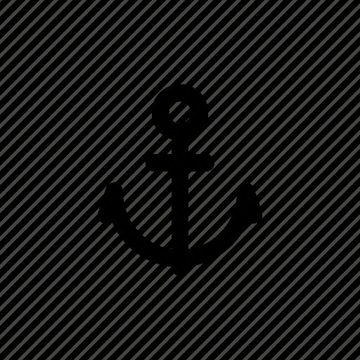 Ocean, sea, anchor, boat, marine, ship, travel icon - Download on Iconfinder