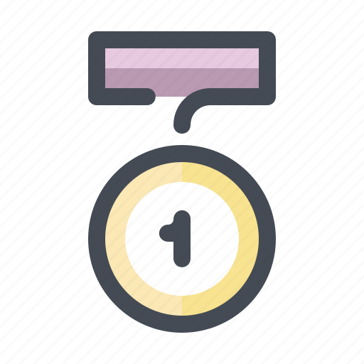 championship, competition, first, gold, medal, sport, winner icon