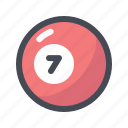 active, billiards, championship, competition, play, pool, snooker icon