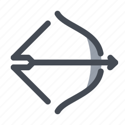 active, archery, arrow, championship, competition, play, shotting icon
