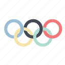 championship, competition, olympiad, olympic, play, ring, sports icon