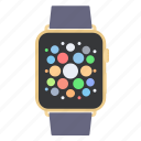 apple devices, smart, time, watch icon