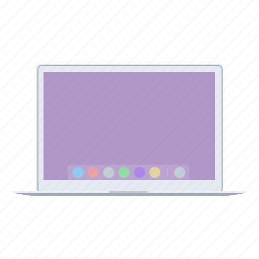 air, apple devices, mac, macbook icon