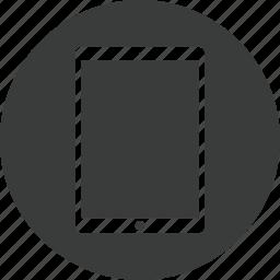 ipad, tablet icon