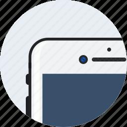 apple, camera, front, iphone7, matt, plus icon