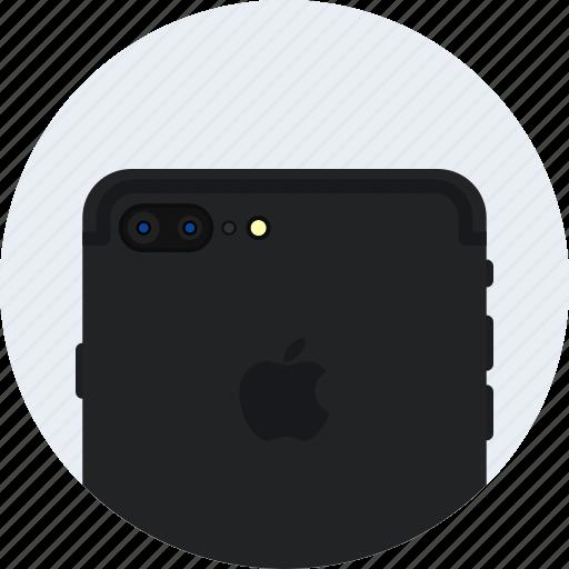 apple, camera, dual, iphone7, matt, plus icon