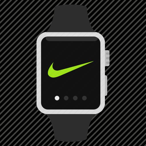 apple, device, gadget, iwatch, nike, smartwatch, watch icon