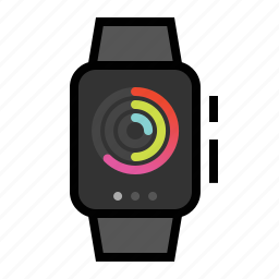 activity, apple, watch icon