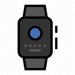 apple, look, short, watch icon
