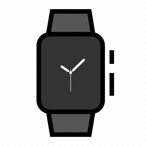 apple, timepiece, watch icon