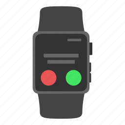 apple watch, call, gadget, member, timepiece icon