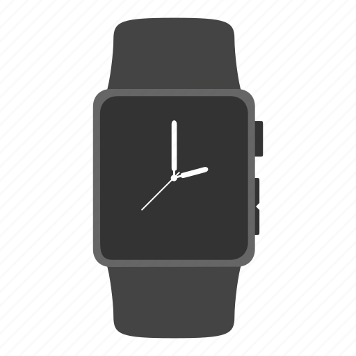 apple watch, clock, gadget, time, timepiece icon