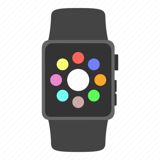 apple, apple watch, gadget, timepiece icon