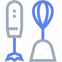baking, blender, cook, cooking, electronics, hand mixer, kitchen icon