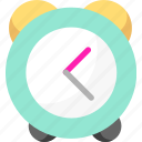 alarm, clock, event, schedule, time icon