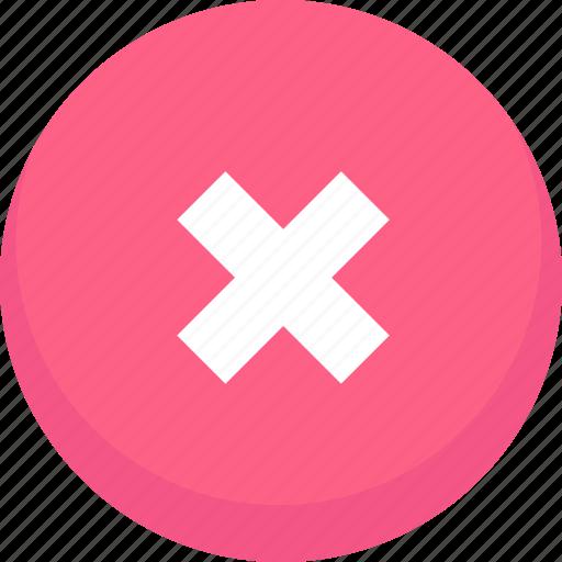 cancel, clear, delete, remove icon