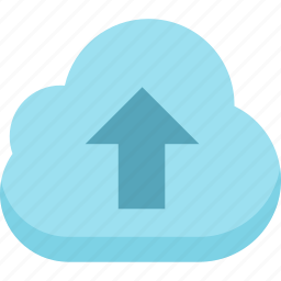 cloud, storage, upload to cloud icon