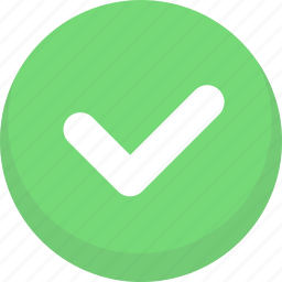 accept, approve, confirm, okay, success, yes icon