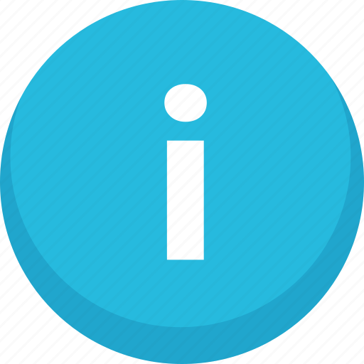 info, information, informations icon