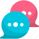chat, comments, communication, discuss, discussion icon