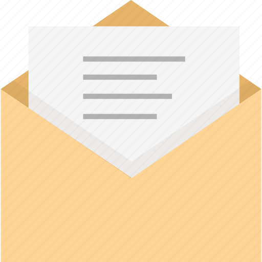 contact, email, envelope, letter, mail, message, newletter icon