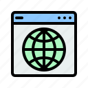 website, browser, applications, network, internet