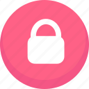 lock, locked, password, privacy, protection, safety, security icon