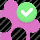 check plugin, component, plug, plugin, security plugin icon
