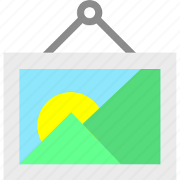 album, gallery, landscape, photography, picture icon