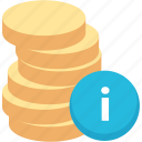 balance, cash, coin, currency, finance, funds, money icon