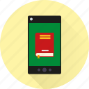 app, book, dictionary, ebook, mobile, phone, reading icon