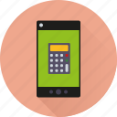 app, application, calculator, mathematics, mobile, phone, smartphone icon
