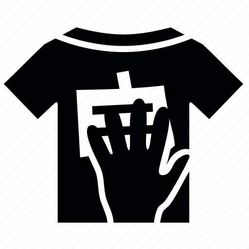 april, day, fools, hand, t-shirt icon