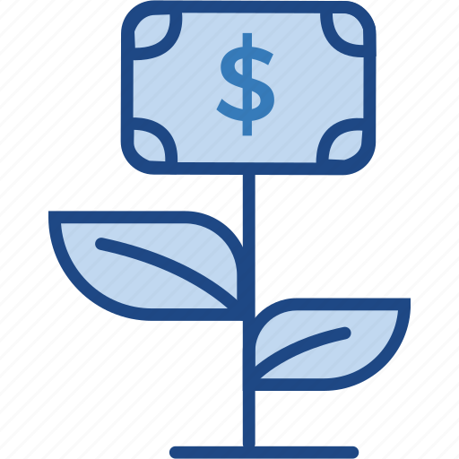 business, dollar, finance, grow, income, money icon