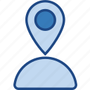 gps, location, map, maps, marker, navigation, pin icon