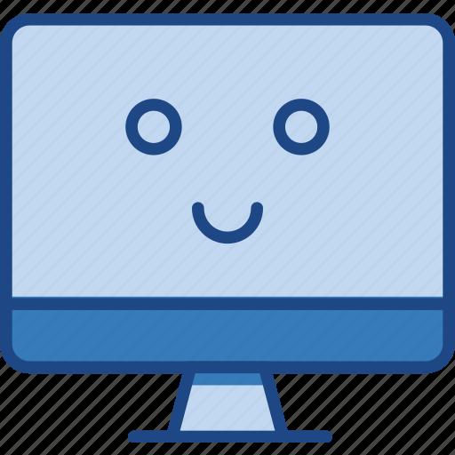 computer, desktop, good, laptop, monitor, pc icon